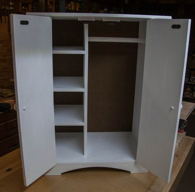 Custom Made Doll Armoire