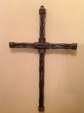 Custom Made Twisted Metal Rope Cross