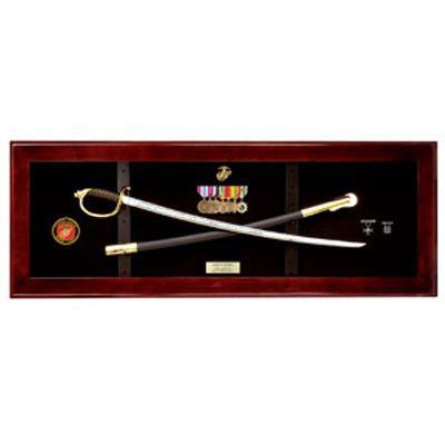 Buy A Hand Crafted Usmc Nco Sword Display Case Sword