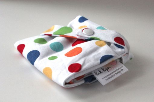 Custom Made Small Lay Flat Messy Bags (Wet Bags) - Lolli Dot In Play