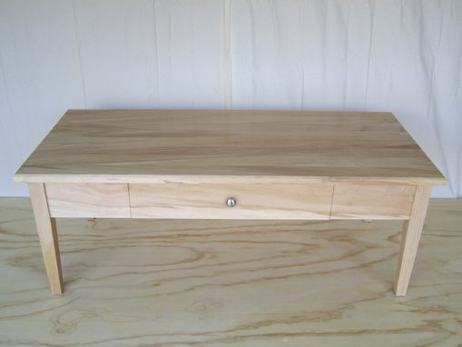 Custom Made Maple Coffee Table