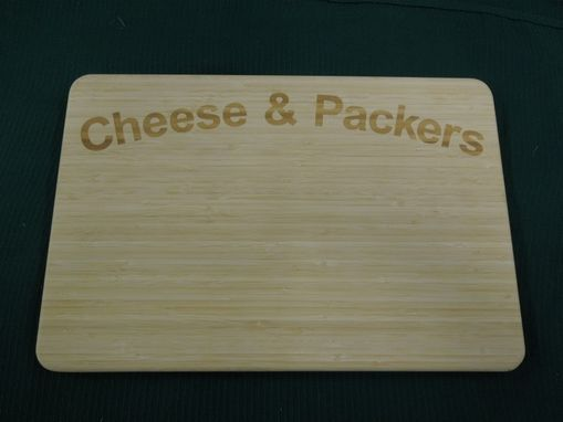 Custom Made Engraved Wood Cutting Board