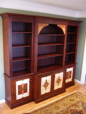 Custom Made Den Book Case