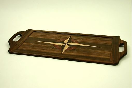 Custom Made Reclaimed Teak Serving Tray #4