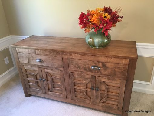 "Custom Made ""Santa Rosa"" Buffet"