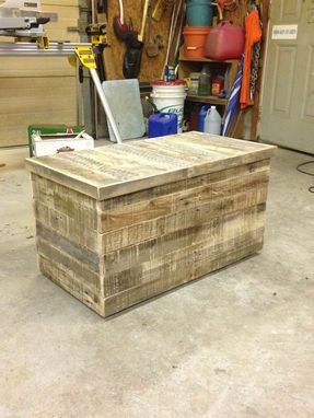 Custom Made Pallet Storage Trunks