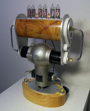 Custom Made Steampunk Nixie Tube Clock