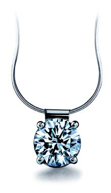 Custom Made Diamond Necklace
