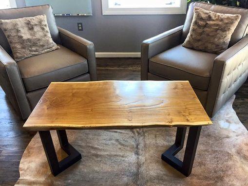 Custom Live Edge Coffee Table by Argos Furniture Co.  CustomMade.com