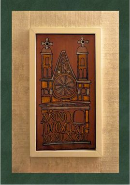 Custom Made Anno Domine Plaque