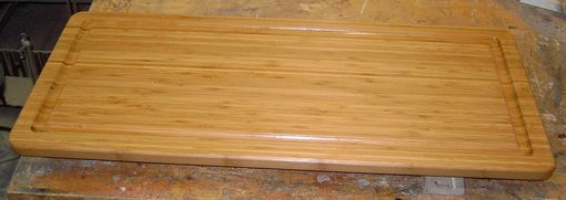 Custom Made Large Bamboo Cutting Board