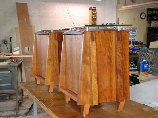 Custom Made Cherry Night Stands  By Michael Pratt Woodworking