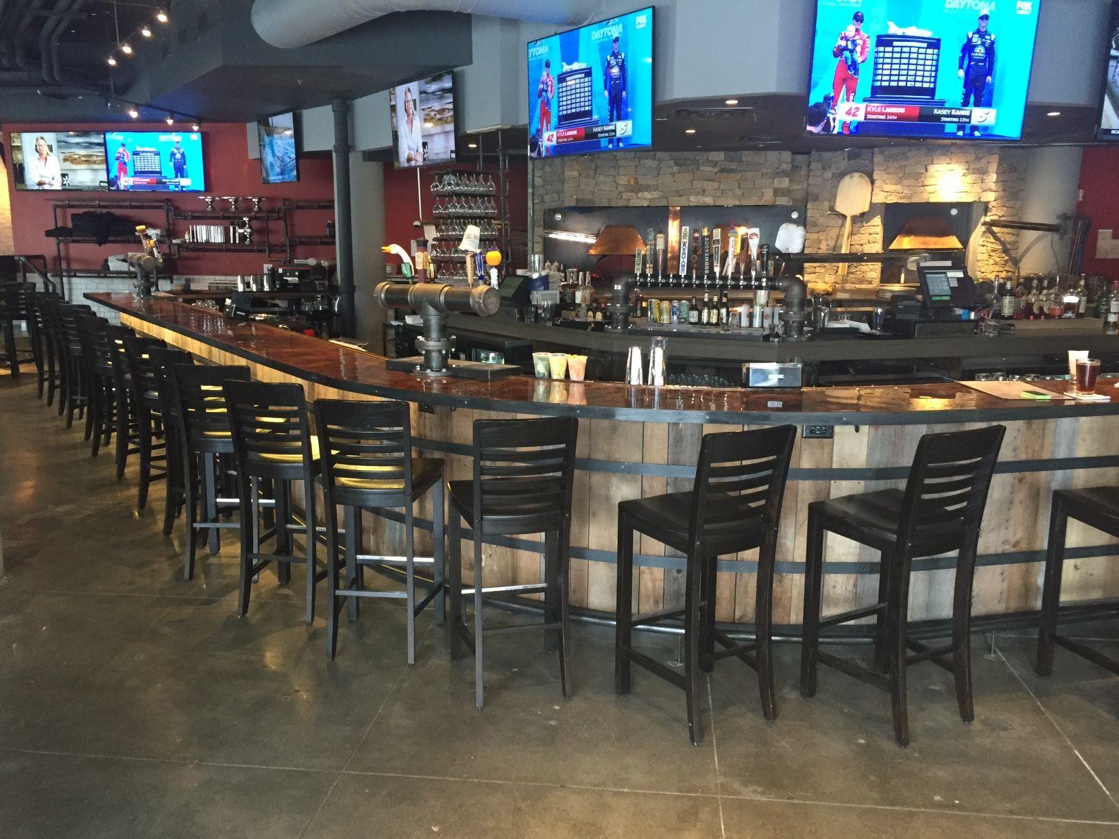 Custom Made Reclaimed Wood Bar Fenway Park Boston