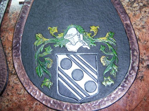 Custom Made Famialy Crest Sporran 3