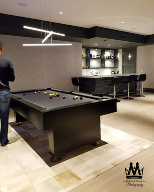 Custom Made Pool Table Modern, And Contemporary !
