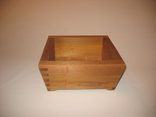Custom Made Planter Or Serving Tray - Small High Square