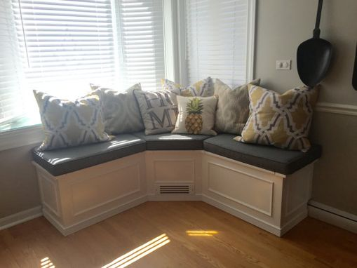 Buy A Hand Crafted Corner Banquette Dining Bench, Made To