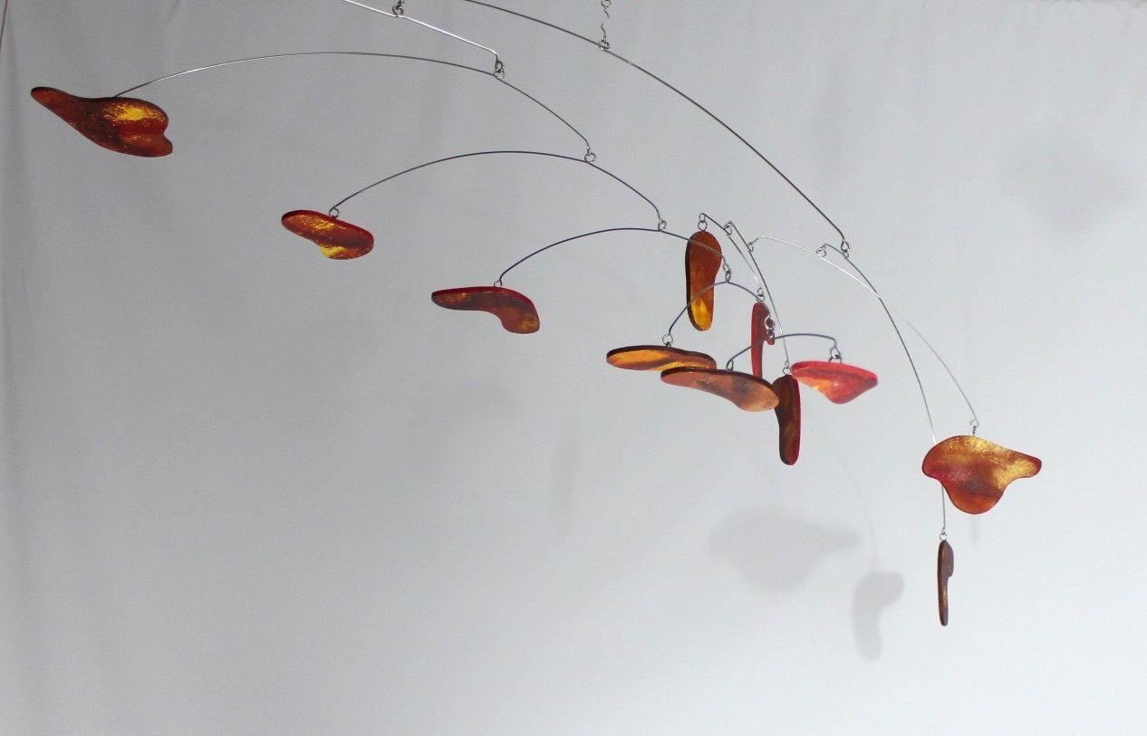 Custom Made Natchez Sunset Art Mobile Large Hanging