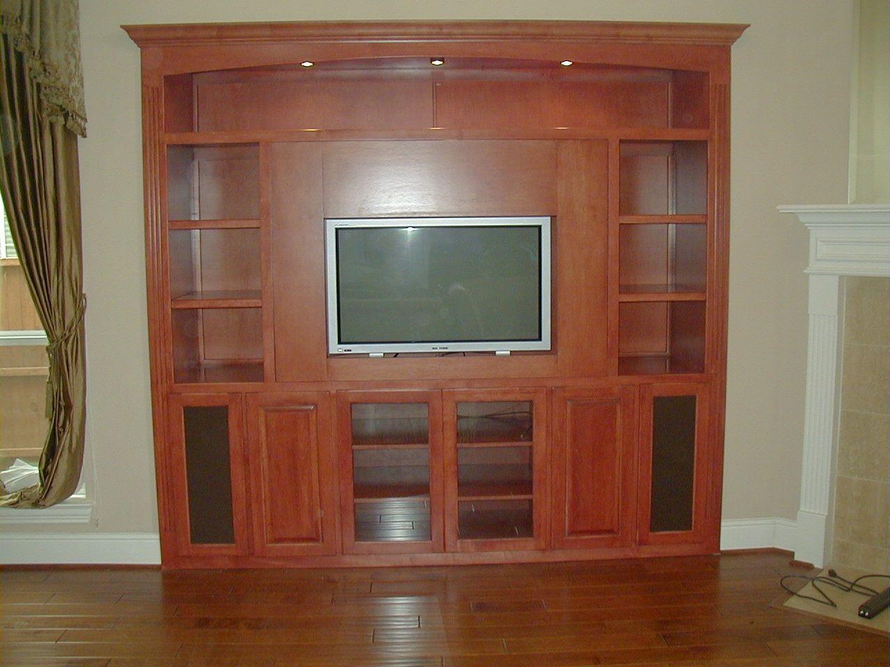 La Credenza Di Fiorenza : Custom maple entertainment center by fiorenza woodworking