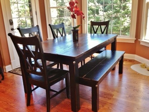 Custom Made Solid Wood Tables & Benches