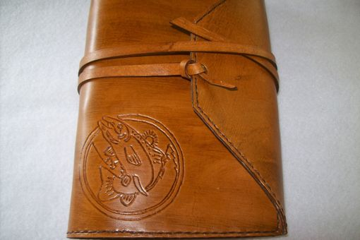 Custom Made Custom Leather Fishing Journal