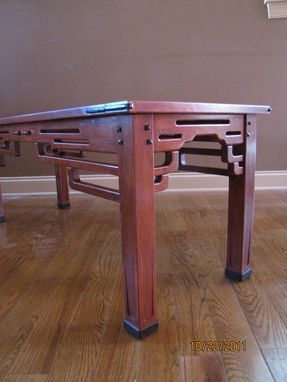 Custom Made Greene And Greene Style End Tables And Coffee Tables