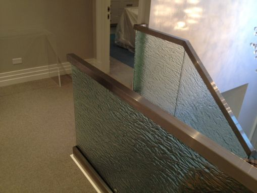 Custom Made Glass Handrails For Jersey Shore Private Residence