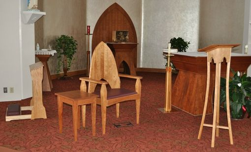 Custom Made Liturgical Furniture For Maison Marcot Chapel