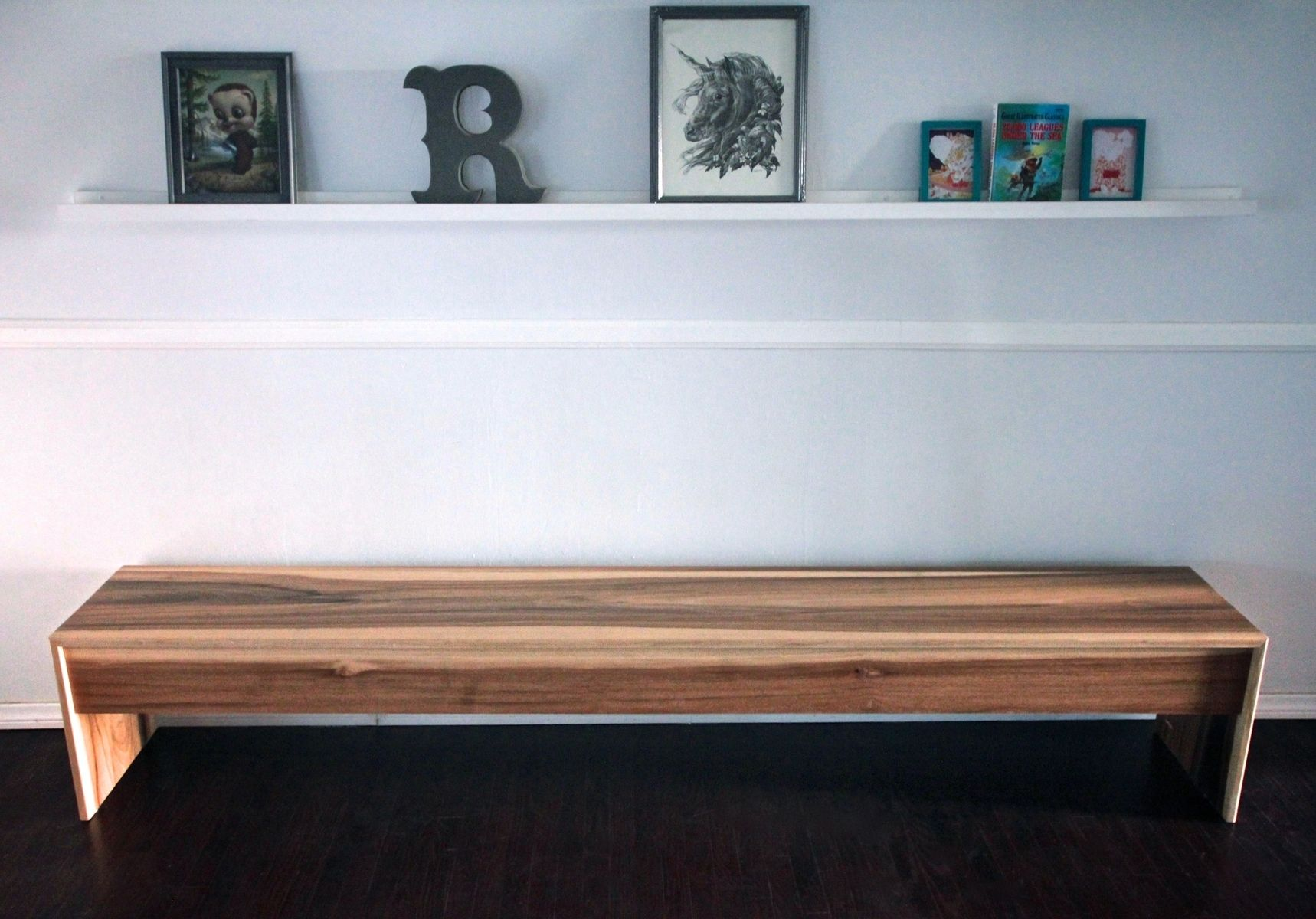 Handmade Wood Waterfall Bench + Coffee Table In Sun Tanned Poplar by ...