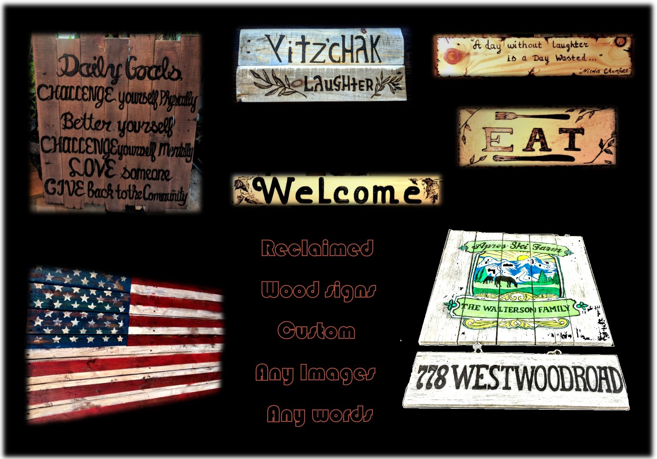 Hand Crafted Wood Signs Custom Plaques Graduation Gift Ideas School Logo Plaques Man Cave Decor By Artistic Creations By Rose Custommade Com