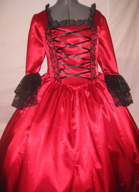 Custom Made Costume For A Christmas Ball
