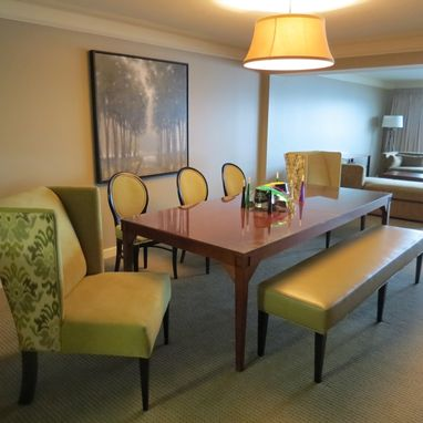 Custom Made Hotel Apartment Dining Furniture