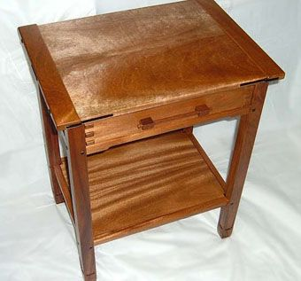 Custom Made Mahogany Greene & Greene End Table