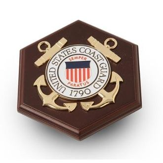 Custom Made U.S. Coast Guard Medallion Paperweight