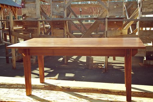 Custom Made The 'Plouffe' Modern Farmhouse Table