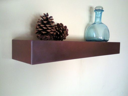 Custom Made Floating Shelf 22