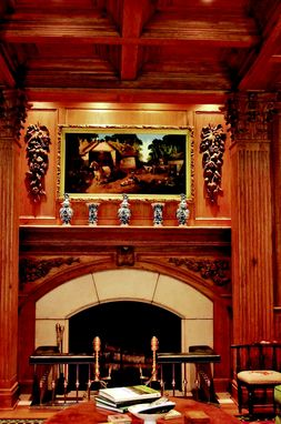 Custom Made English Mantel