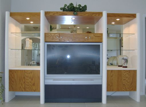 Custom Made Armoires And Built Ins