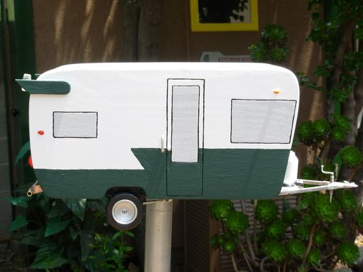 Custom Made Hand Crafted Shasta Trailer Mailbox