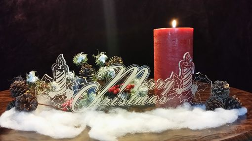 Custom Made Christmas Mantle Decorations