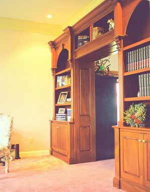 Custom Made Multi-Wood Home Office