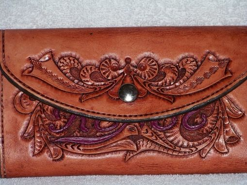 Custom Made Custom Hand Made Leather Wallet
