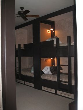Custom Made Modern Bunk Room