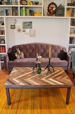 Custom Made Reclaimed Wooden Coffee Table