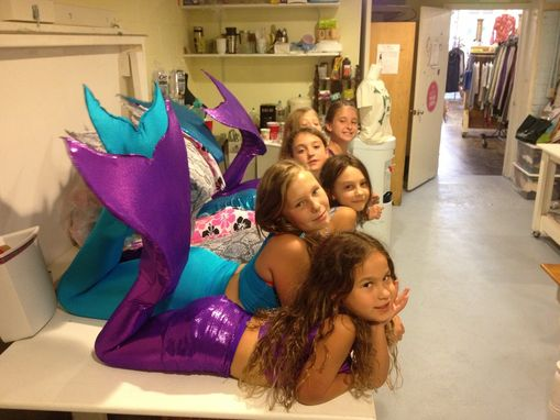 Custom Made Mermaid Tails For Swimming!
