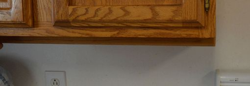 Custom Made Under Cabinet Knife Drawer