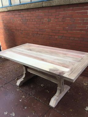 Custom Made Table And Matching Bench