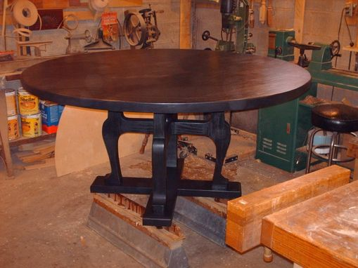 Custom Made Contemporary Dining Table.