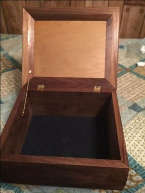 Custom Made Large Keepsake Box