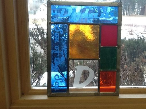 Custom Made Nameglass Stained Glass